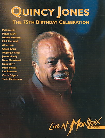 75TH BIRTHDAY CELEBRATION:LIVE AT 08 BY JONES,QUINCY (DVD)