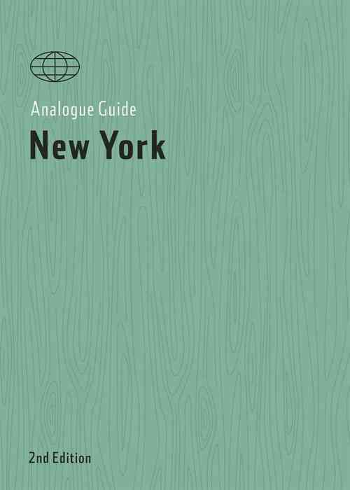 Analogue Guide New York By Stone, Alana